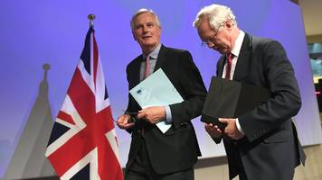 brexit negotiations: barnier rules out 'concessions'