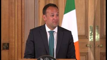 leo varadkar finds out 'love actually' was not filmed in number 10