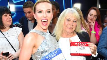 Scarlett Johansson had the best time with her grandma 'twin'