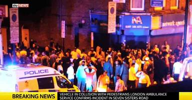 Van Slams Into Pedestrians Near London Mosque Leaving Number Of Casualties, Driver Arrested