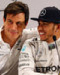 lewis hamilton: mercedes formula one star better than ever, says team boss toto woff
