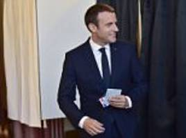 Emmanuel Macron's party set to win majority in France