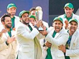 Pakistanis savour victory over India