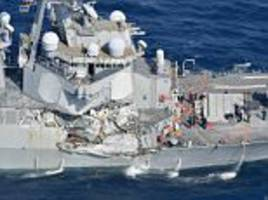 Shambolic start to probe into USS Fitzgerald collision