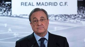 Real Madrid: Florentino Perez is re-elected as president until 2021