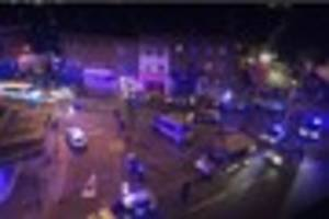Updates as man dies in potential terror attack outside London...