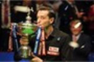 Leicester's snooker world champion Mark Selby earned record...