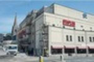 end of an era as staples sign comes down