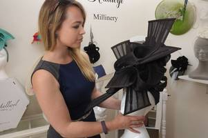 countdown to royal ascot as milliner's hats surge in demand - even from carol vorderman