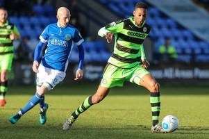 forest green turn down bids from barnsley for defender
