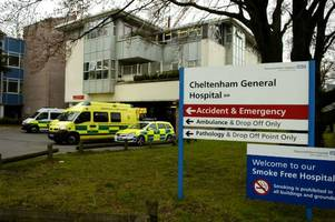 Patients waiting three hours at Cheltenham A&E as Gloucestershire's emergency departments deal with soar in demand