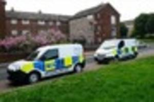 Heavy police presence after 'stabbing' in Bedford Street, Grimsby