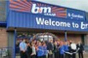 B&M Bargains is looking for staff to work in its new...