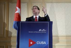 Cuban foreign minister: We will not buckle in face of Trump's sanctions