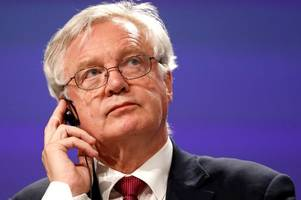 david davis has already caved in to eu demands in the brexit negotiations