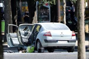 french terror probe launched as suspected attacker crashes car into police van on paris' champs elysees