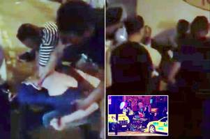 Moment angry crowd holds down suspect screaming Kill me after Finsbury Park mosque terror attack