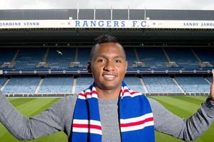 rangers confirm alfredo morelos as their sixth signing of the summer