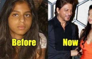 then and now: shah rukh khan's daughter suhana khan has transformed into a hot diva!