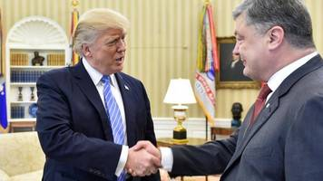 Trump has 'good discussions' with Ukraine president