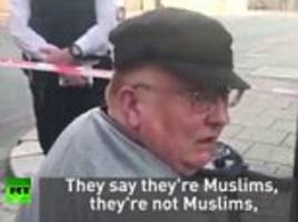 Ilford pensioner travels to Finsbury Park to apologise