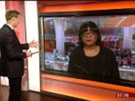 diane abbott says she is 'back to fighting fitness'