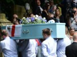 funeral held for manchester bomb victim olivia campbell