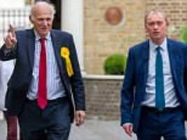 Vince Cable announces he is standing to be Lib Dem leader