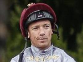 frankie dettori set to miss all of royal ascot meeting