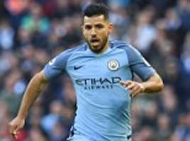 Man City striker Sergio Aguero vows to see out contract