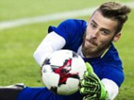 real madrid president says they 'haven't spoken to' de gea