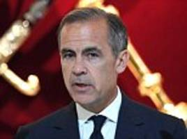 Mark Carney says 'now is not the time' for bank rate rises