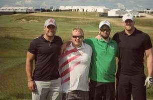 J.J. Watt played Erin Hills one day after the U.S. Open, and it didn't go so well