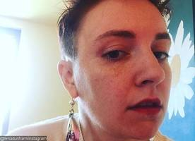 Lena Dunham Chops Off Her Long Hair, Debuts Super Short Hairdo on Instagram