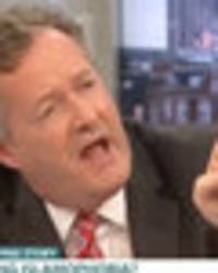 Piers Morgan's debate with Tommy Robinson turns to chaos: 'You bigoted lunatic'
