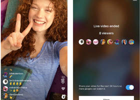 You can now save your Instagram live streams to replay for 24 hours