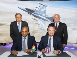 tata group, lockheed martin sign deal to manufacture f-16 fighter jets in india