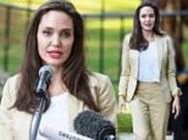 Angelina Jolie speaks about sexual violence in Nairobi