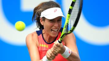 aegon classic: johanna konta into second round in birmingham