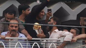 ICC Champions Trophy winners Pakistan return to hero's welcome