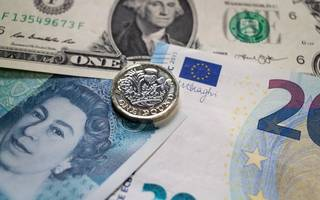sterling falls to lowest level since may's snap election announcement