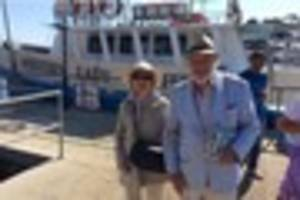 sybil fawlty returns to torquay - and this time she's on holiday!