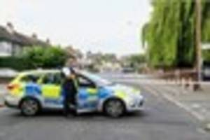 Romford double shooting: First look at the scene
