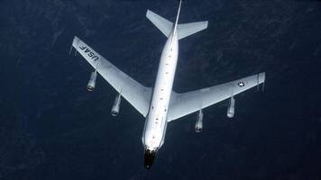 Russian jet 'flies 5ft from' US spy plane over Baltic Sea