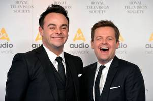 ant mcpartlin expected to be back on screen in time for i'm a celebrity in november after stint in rehab