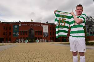 celtic new boy jonny hayes insists he's not out to fill the boots of fans' favourite patrick roberts