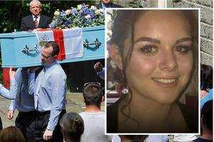 manchester terror victim olivia campbell-hardy laid to rest at blue-themed funeral