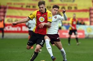 partick thistle ace liam lindsay heading to barnsley after jags accept bid from championship side