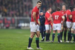 even if george north starts the first test against new zealand his lions place is now under huge threat