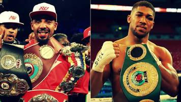 andre ward: anthony joshua and tony bellew bouts possible